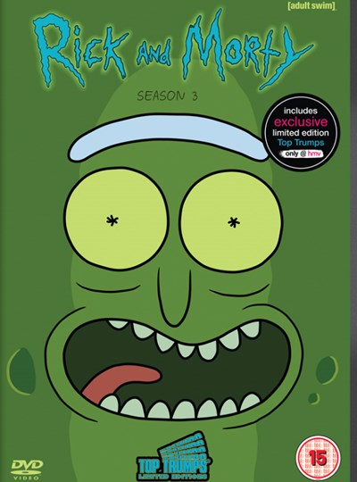 Rick and Morty: Season 3 (hmv Exclusive) Includes 3 hmv Exclusive Rick & Morty Top Trumps Cards