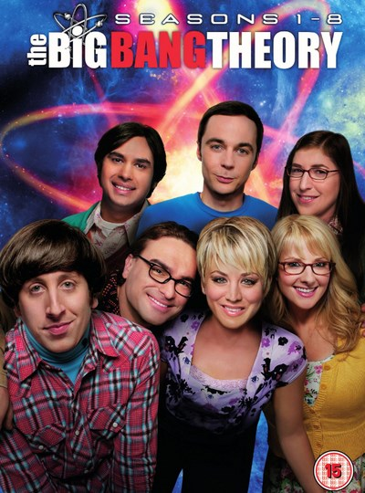 The Big Bang Theory: Seasons 1-8