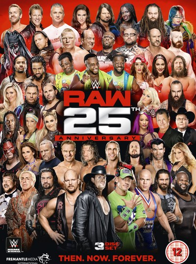 WWE: Raw - 25th Anniversary