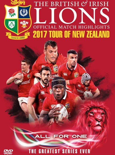 British and Irish Lions: Official Test Match Highlights - 2017