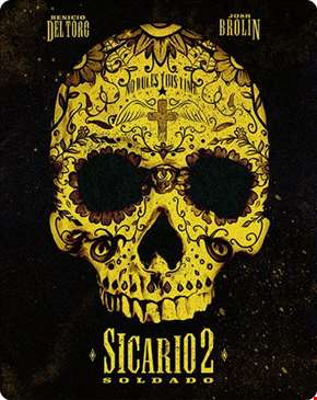 Sicario 2 - Soldado Limited Edition 4K Ultra HD Steelbook