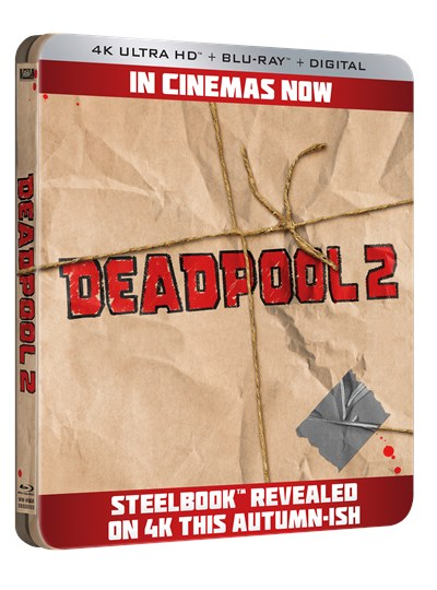 Deadpool 2 (hmv Exclusive) 4K Ultra HD Limited Edition Steelbook